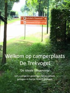 Camperplaats De Trekvogel